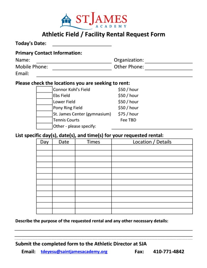 athletic-request-form